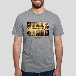 Avengers Infinity War Team Mens Tri-blend T-Shirt