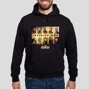 Avengers Infinity War Team Hoodie (dark)
