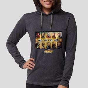 Avengers Infinity War Team Womens Hooded Shirt
