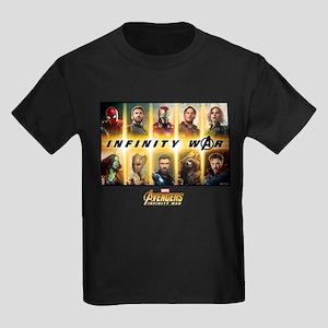 Avengers Infinity War Team Kids Dark T-Shirt