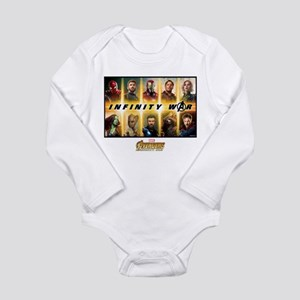 Avengers Infinity War Long Sleeve Infant Bodysuit