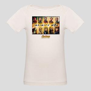 Avengers Infinity War Team Organic Baby T-Shirt