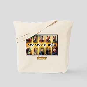 Avengers Infinity War Team Tote Bag