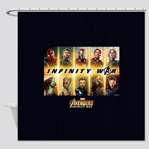 Avengers Infinity War Team Shower Curtain