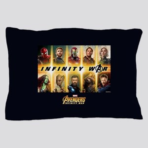 Avengers Infinity War Team Pillow Case
