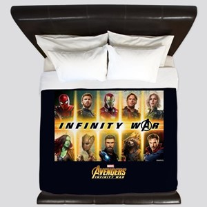 Avengers Infinity War Team King Duvet