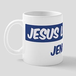 Jesus Loves Jenn Mug
