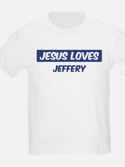 Jesus Loves Jeffery T-Shirt