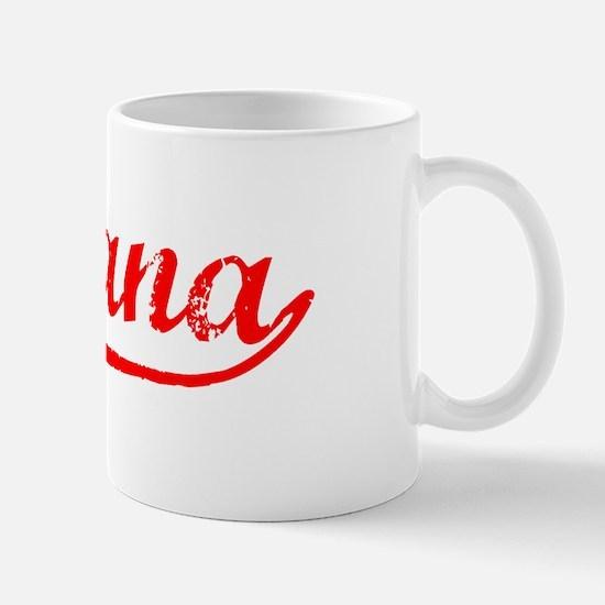 Vintage Indiana (Red) Mug