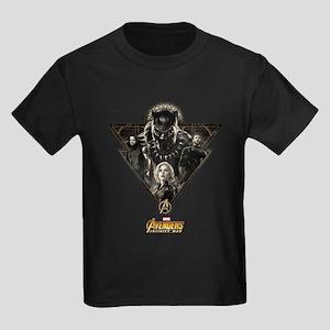 Avengers Infinity War Black Pant Kids Dark T-Shirt