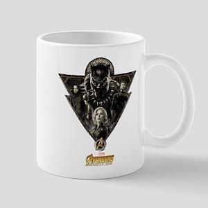 Avengers Infinity War Black Pant 11 oz Ceramic Mug