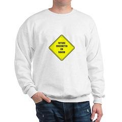 Maternity - Future Crocheter Sweatshirt