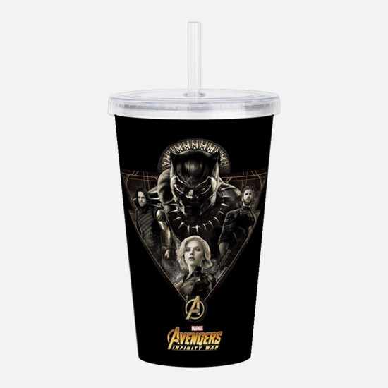Avengers Infinity War Acrylic Double-wall Tumbler