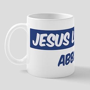 Jesus Loves Abbie Mug