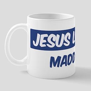 Jesus Loves Maddox Mug
