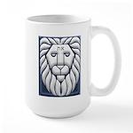 Aleph & Tav Lion Of Judah Large Mug