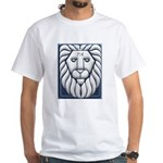 Aleph & Tav Lion Of Judah White T-Shirt