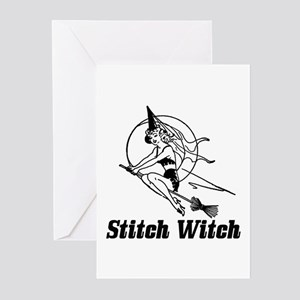 Stitch Witch Greeting Cards (Pk of 20)