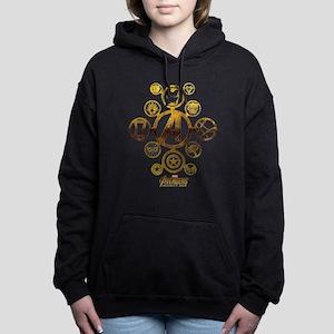 Avengers Infinity War Ic Women's Hooded Sweatshirt