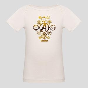 Avengers Infinity War Icons Organic Baby T-Shirt