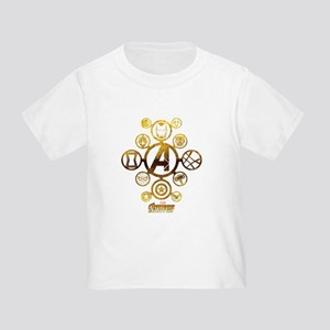 Avengers Infinity War Icons Toddler T-Shirt
