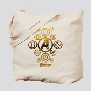 Avengers Infinity War Icons Tote Bag