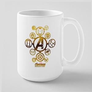 Avengers Infinity War Ico 15 oz Ceramic Large Mug