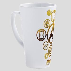 Avengers Infinity War Icons 17 oz Latte Mug