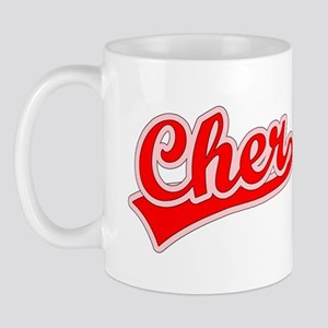 Retro Cher (Red) Mug