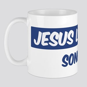 Jesus Loves Sonia Mug