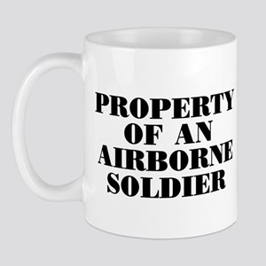 Airborne Soldier Property Mug