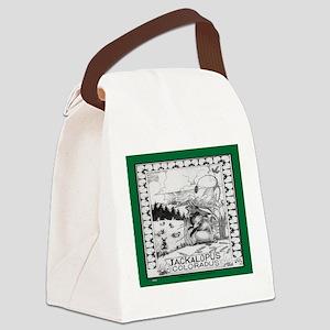 Jackalope Colorado Canvas Lunch Bag