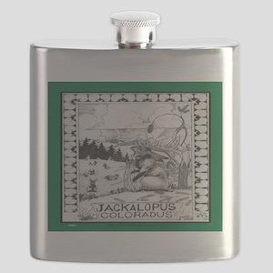 Jackalope Colorado Flask
