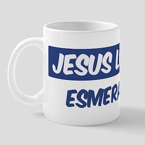 Jesus Loves Esmeralda Mug