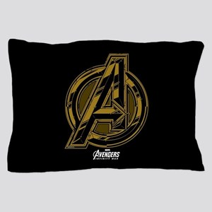 Avengers Infinity War Symbol Pillow Case