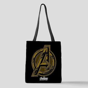 Avengers Infinity War Symbol Polyester Tote Bag
