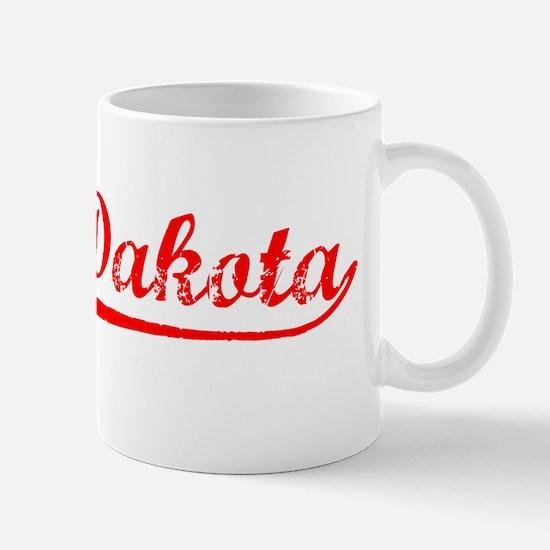 Vintage North Dakota (Red) Mug