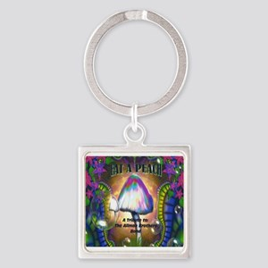 Eat a Peach band logo Keychains