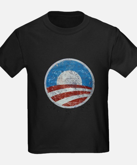 Obama Yes We Did Distressed T-Shirt