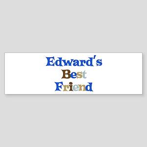 Edward's Best Friend Bumper Sticker