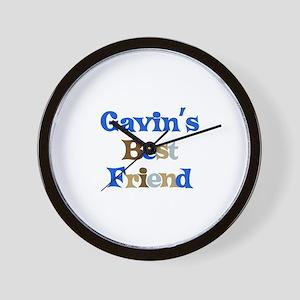 Gavin's Best Friend Wall Clock