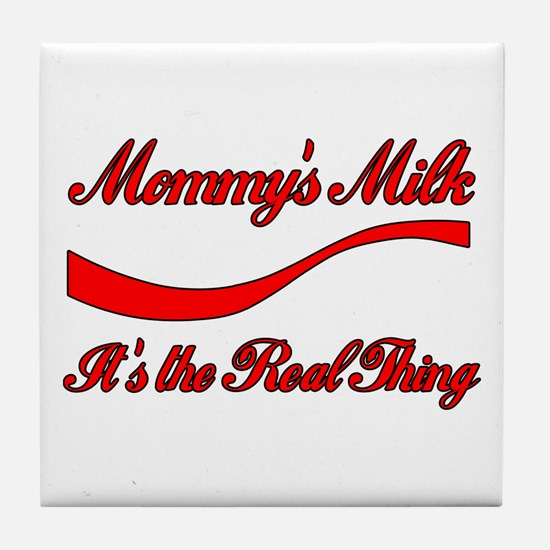 Mommy Milk Tile Coaster