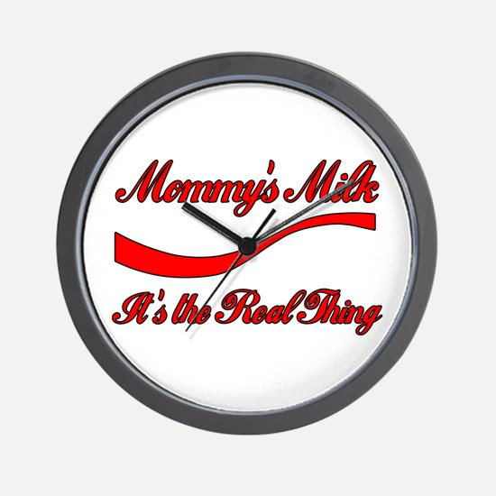 Mommy Milk Wall Clock