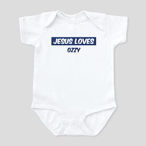 Jesus Loves Ozzy Infant Bodysuit