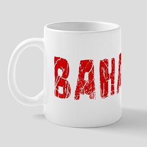 Bahamas Faded (Red) Mug