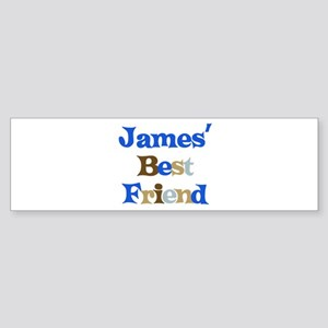 James's Best Friend Bumper Sticker