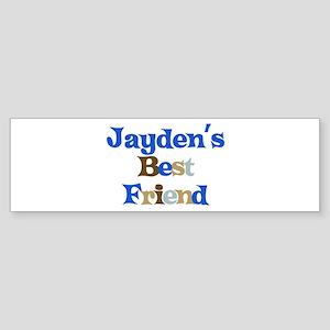 Jayden's Best Friend Bumper Sticker