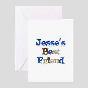 Jesse's Best Friend Greeting Card