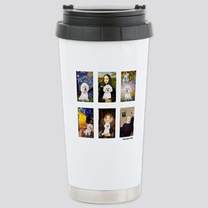 Famous Art Bichon (clr) Mugs