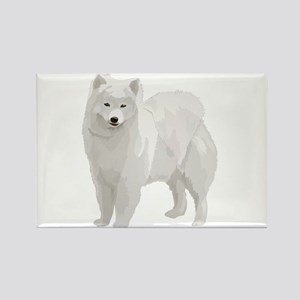 Beautiful Samoyed Rectangle Magnet